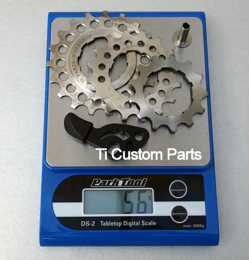 2/6 Speed Rear Wheels Ti Cassette System