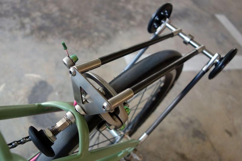 Ti/Carbon Rear Rack